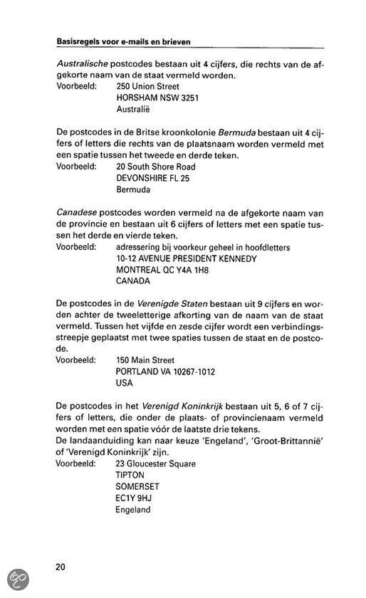 aanhef engelse brief formeel Adressering Engelse Brief Zakelijk | gantinova
