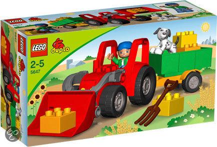 LEGO Duplo Ville Grote tractor - 5647