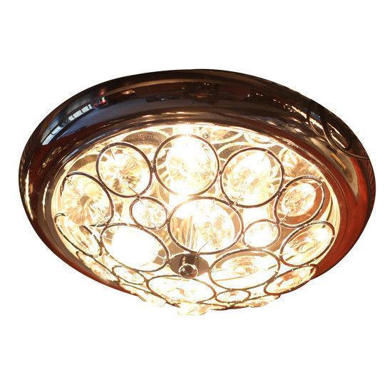 bol.com  VandeHeg Gassa - Plafondlamp - ø36 cm - Landelijk