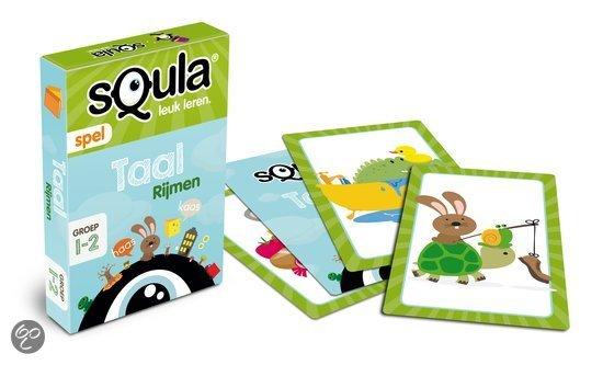 Thumbnail van een extra afbeelding van het spel Squla Taal - Kaartspel