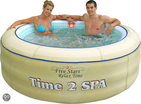 Five Stars Time 2 Spa - Bubbelbad - Fashion Sand Color