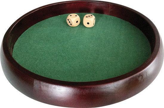 Afbeelding van het spel Dobbelpiste 34cm incl. 2 dobbelstenen
