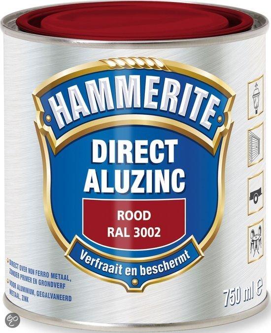 bol.com | Hammerite Direct Over Aluzinc Rood 750ML