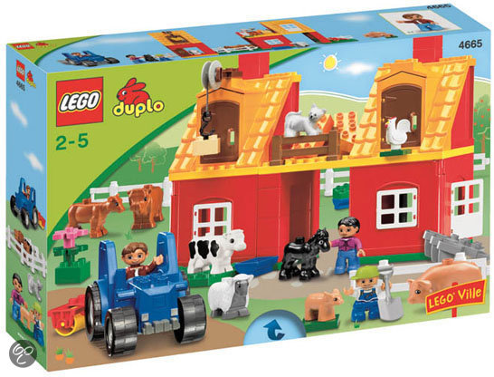 bol.com | LEGO Duplo Ville Grote Boerderij - 4665,LEGO | Speelgoed: www.bol.com/nl/p/lego-duplo-ville-grote-boerderij-4665...