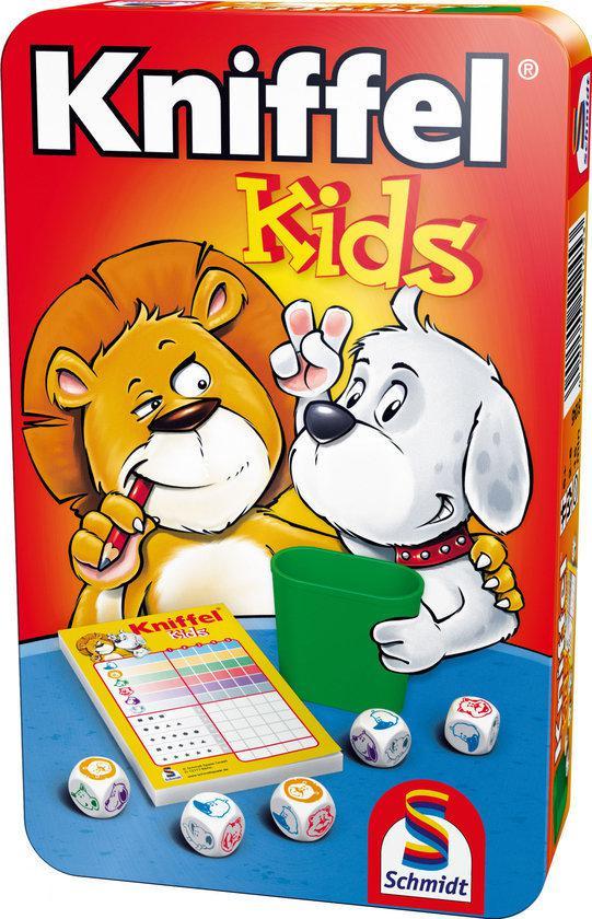 Afbeelding van het spel Kniffel Kids in blik - Reiseditie