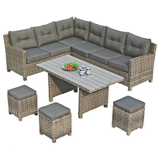 dining loungeset aanbieding. Black Bedroom Furniture Sets. Home Design Ideas