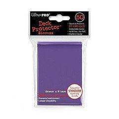Afbeelding van het spel Standaard Deck Protector Sleeves Purple (50st.)