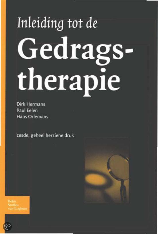 Inleiding tot de gedragstherapie