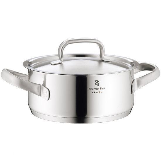 WMF Gourmet Plus Kookpan - Laag - Mat RVS - Ø 20 cm