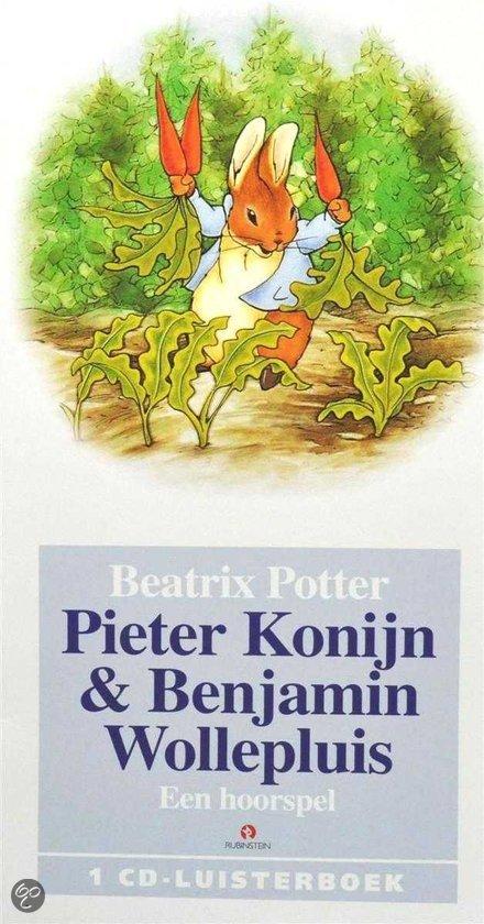 Pieter konijn en Benjamin wollepluis + knuffel