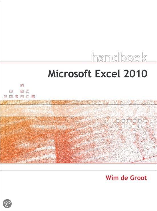 Handboek Microsoft Excel 2010