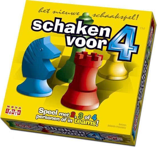 Afbeelding van het spel Schaken Voor 4