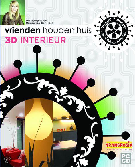 Vrienden houden huis 3d interieur met monique for 3d interieur ontwerpen gratis