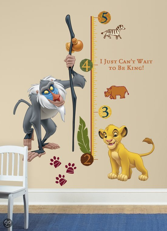 bol | roommates disney the lion king - muurstickers - multi, Deco ideeën