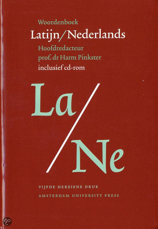 Woordenboek Latijn - Nederlands + CD-ROM