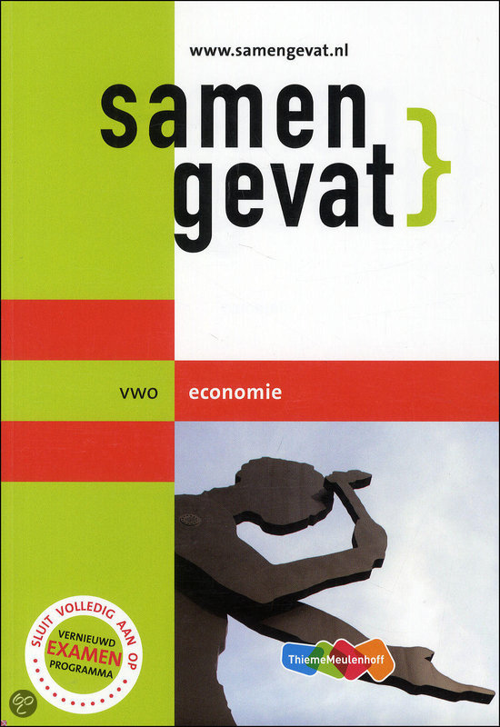Samengevat / Vwo Economie