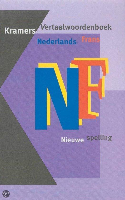 Kramers vertaalwoordenboek Nederlands-Frans