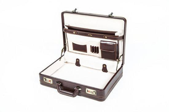0647e45d2a1 bol.com | Adventure Bags Attache koffer - Bruin