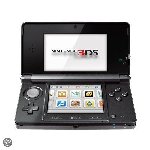 Nintendo 3DS Kosmos Zwart