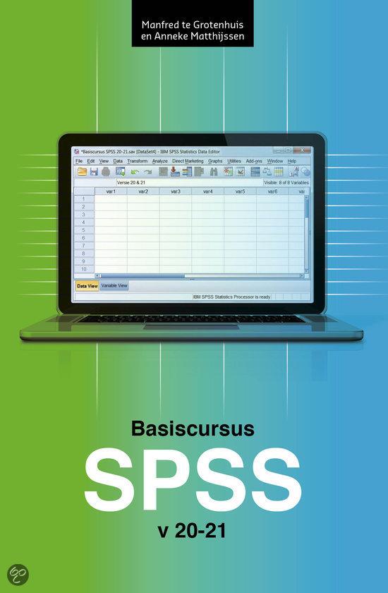 Basiscursus SPSS / versie 20-21