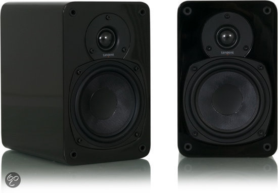 Tangent EVO E5 - Boekenplankspeakers - 2 stuks - Zwart