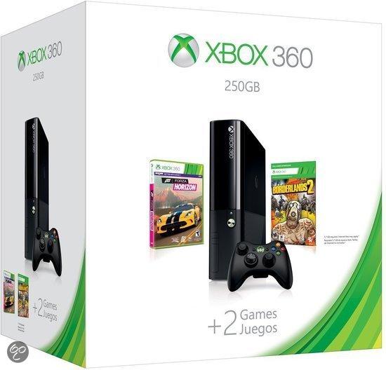 Microsoft Xbox 360 Super Slim 250GB + 1 Controller + Forza Horizon + Borderlands 2 kopen