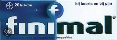 Finimal Paracetamol-Coffeine 500/50 mg - 20 Tabletten - Pijnstillers