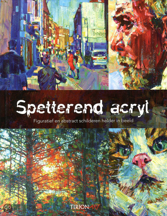 Spetterend acryl