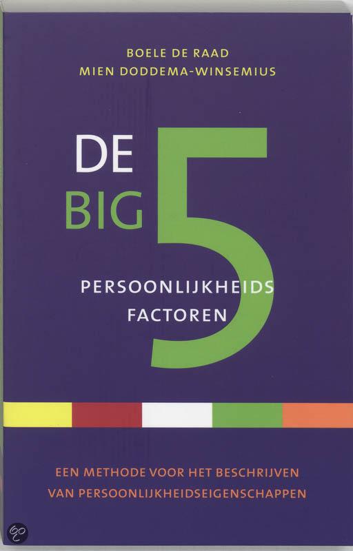 De Big 5 Persoonlijkheidsfactoren
