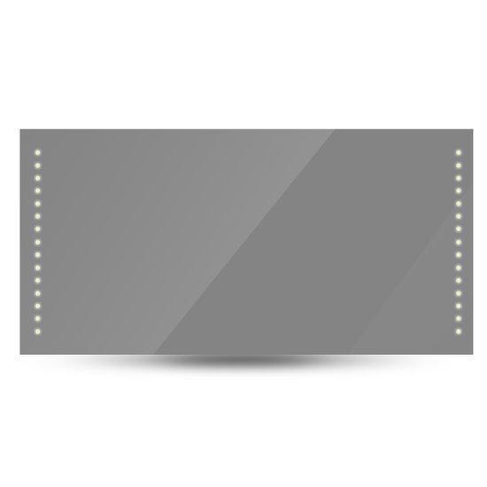 vidaxl badkamerspiegel badkamerspiegel met led verlichting 120 x 60 cm. Black Bedroom Furniture Sets. Home Design Ideas