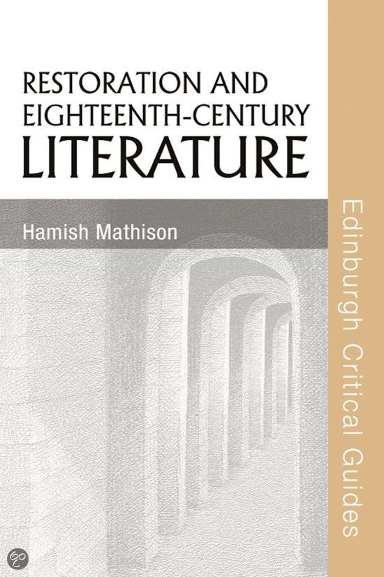 the eighteenth century and literature A comprehensive guide to british literature of the re including biographies and works never before published on the web as well as additional resources.