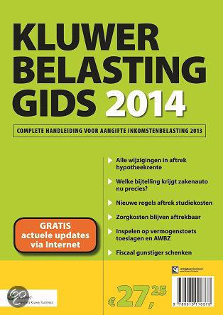 Belastinggids / 2014