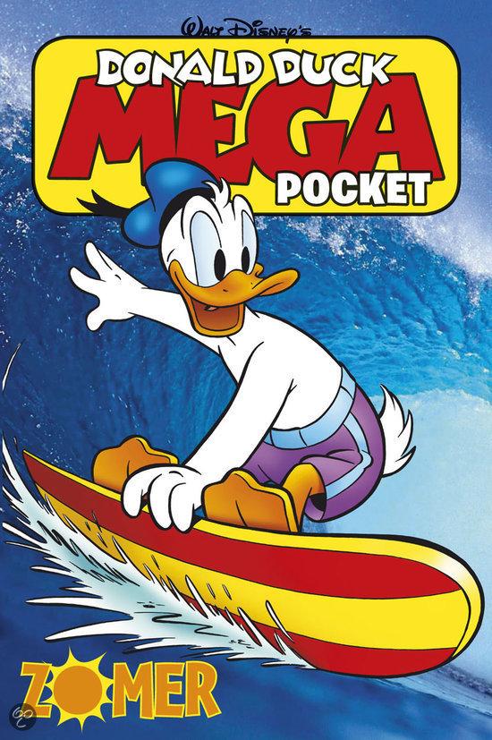 Donald Duck mega pocket / zomer