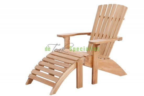 Garden teak lounge stoel teakhouten beach chair for Lounge stoel buiten