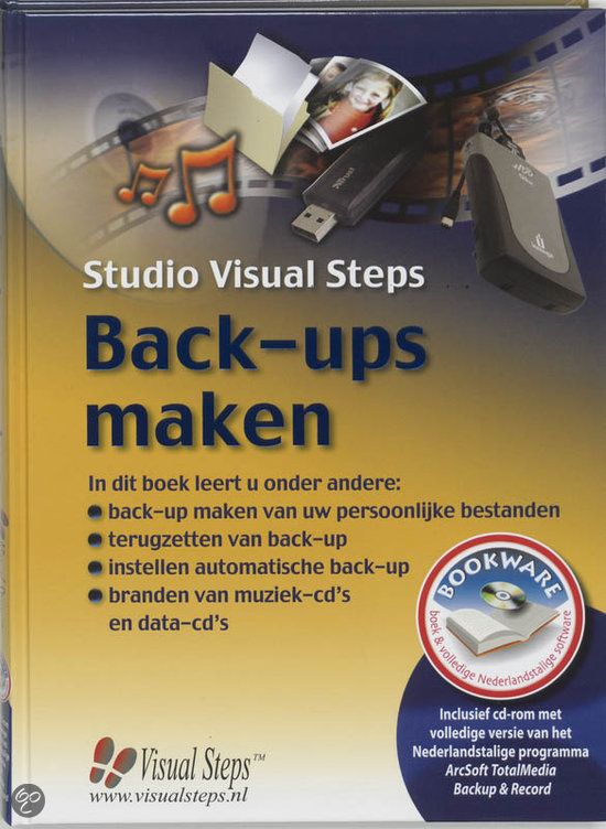 Back-Ups Maken + Cd-Rom