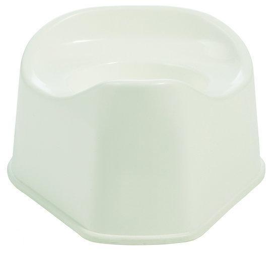 Bébé-Jou Plaspotje - Plastic - Wit