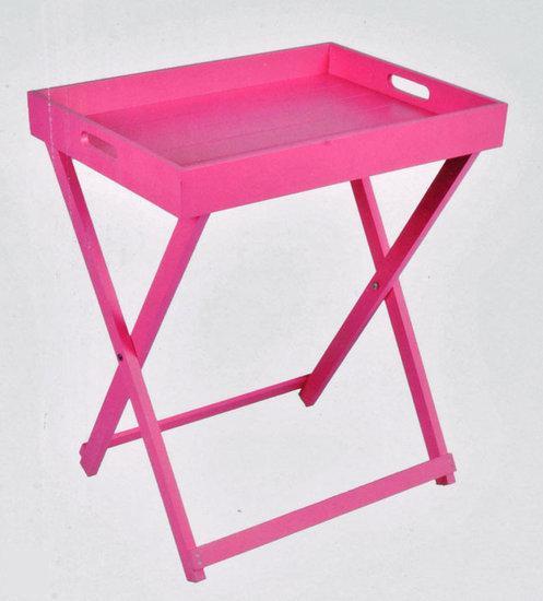 Dsm bijzettafel dienblad roze - Tafel roze kind ...