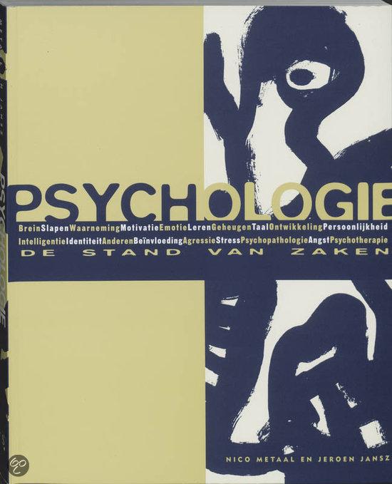 Psychologie: de stand van zaken / druk 12
