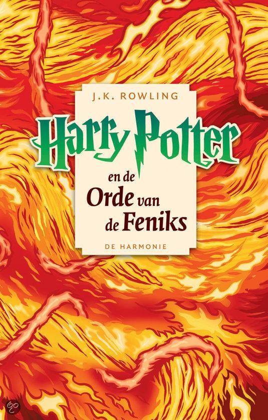 cover Harry Potter en de orde van de Feniks