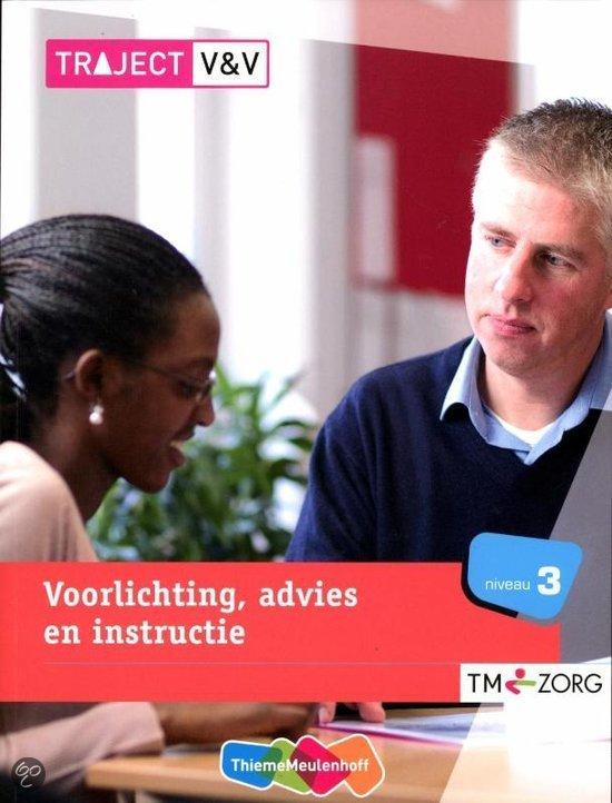 Voorlichting, advies en instructie / niveau 3