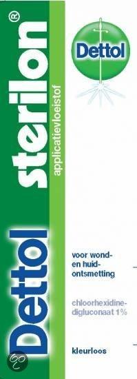 Dettol Sterilon Applicatievloeistof - 15 ml - Huidontsmettingsmiddel