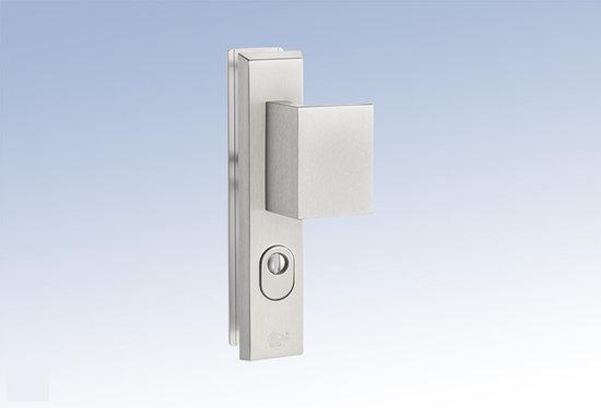 M & C Deurbeslag Aluminium anti kerntrek veiligheids deurbeslag skg*** N205515