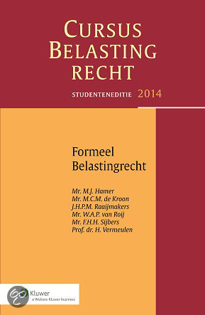 Formeel belastingrecht / Studenteneditie 2014