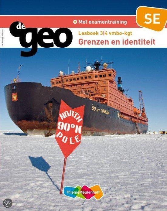 De Geo / 3/4 vmbo-kgt Grenzen en identiteit Identiteit / deel Lesboek SE