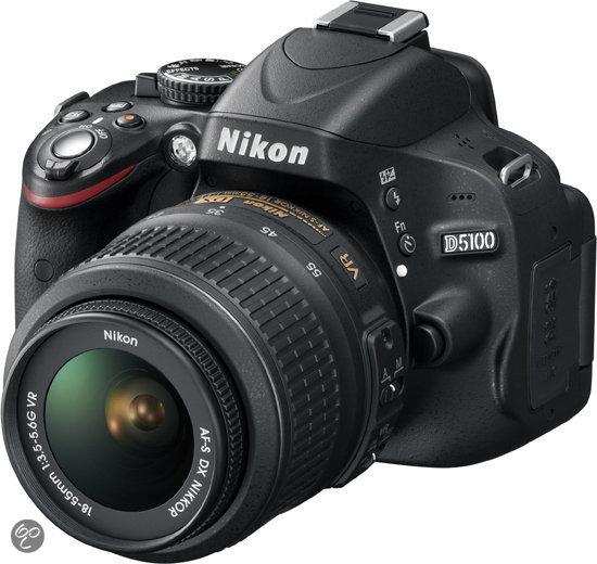 Nikon D5100 + 18-55 mm VR - Spiegelreflexcamera