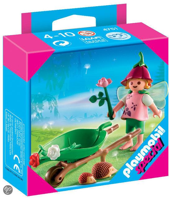 Playmobil Bloemenelfje met egels  - 4751