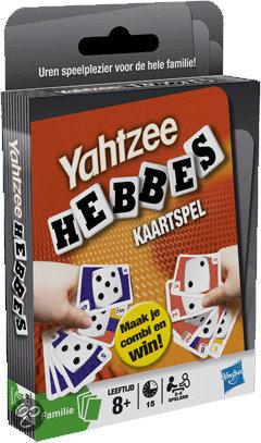 Afbeelding van het spel Yahtzee Hebbes! - Dobbelspel
