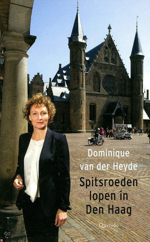 Spitsroeden lopen in Den Haag