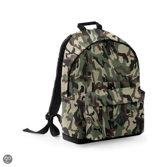 Camouflage rugzak kind