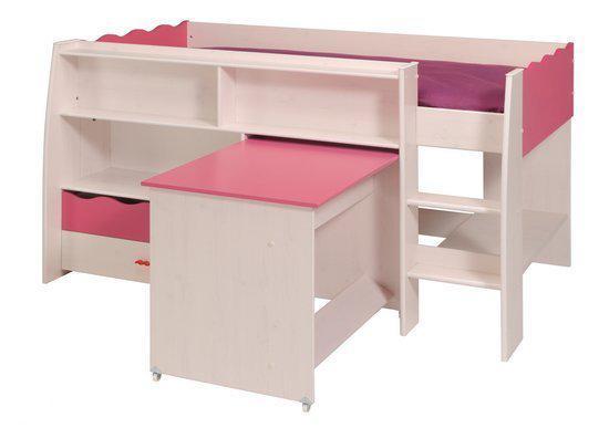 parisot hoogslaper halfhoogslaper lolita. Black Bedroom Furniture Sets. Home Design Ideas